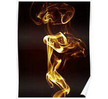 Golden Smoke Poster
