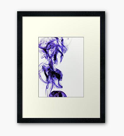 Like Ink in Water Framed Print