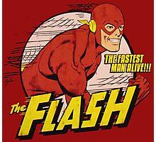 The Flash Retro Photographic Print