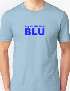 my main is a blue mage Unisex T-Shirt