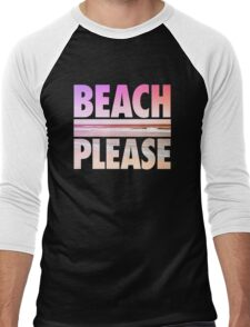 Beach Please Men's Baseball ¾ T-Shirt