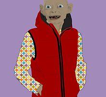 Gollum - Modern outfit version by luchomargolin