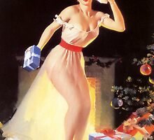 Gil Elvgren Christmas Pinup by RookieRomance