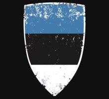 Flag of Estonia One Piece - Long Sleeve