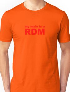 my main is a red mage Unisex T-Shirt