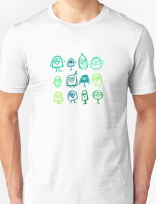 green birds T-Shirt