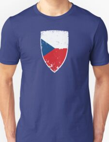 Flag of Czech Republic Unisex T-Shirt