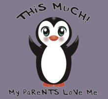 Parents Love Me ~ Baby Penguin Kids Clothes