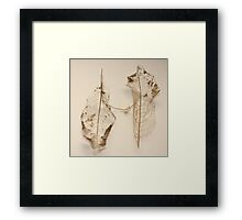 connected Framed Print