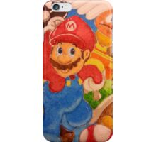 It's a Mario! iPhone Case/Skin