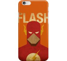 The Flash Retro iPhone Case/Skin