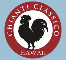 Black Rooster Hawaii Chianti Classico  Kids Tee