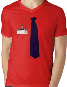 Dwight K. Schrute Uniform Mens V-Neck T-Shirt