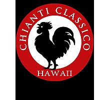 Black Rooster Hawaii Chianti Classico  Photographic Print