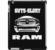 Glory Guts Ram white iPad Case/Skin