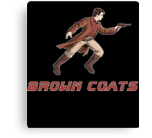 Browncoats or BladeRunners Canvas Print