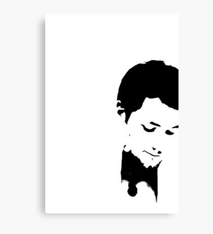 Sad Smile Canvas Print
