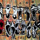 "Fav Shoes by Belinda ""BillyLee"" NYE (Printmaker)"