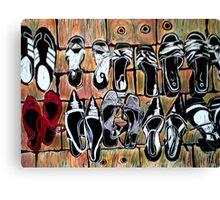 Fav Shoes Canvas Print