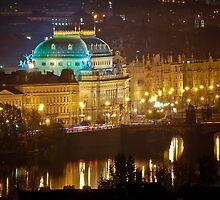 National Theatre, Prague, Czech Republic by Petr Klapper