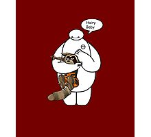 Baymax and Rocket Photographic Print
