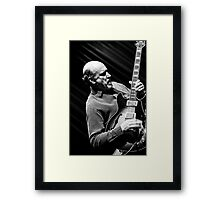 John Scofield Framed Print