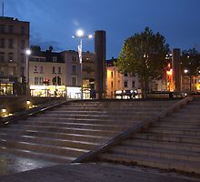 Water Steps (at night) by Paul  Henderson Smith