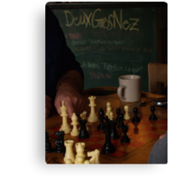 DGN Chess I Canvas Print