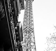 Tour Eiffel by Jean M. Laffitau