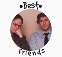 Jim and Dwight - Best Friends Unite! Kids Clothes