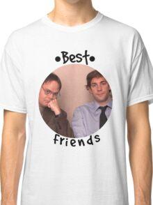 Jim and Dwight - Best Friends Unite! Classic T-Shirt