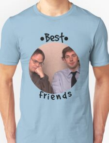 Jim and Dwight - Best Friends Unite! Unisex T-Shirt