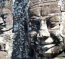 Ankor Buddha by RedAnt