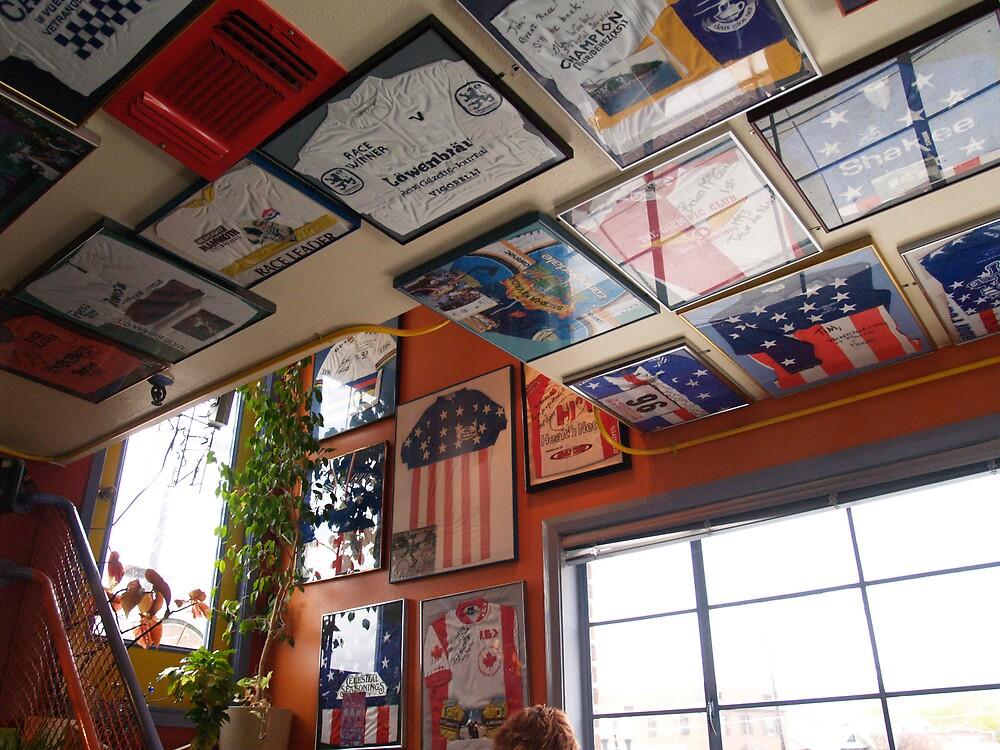 DGN Ceiling Jerseys II by Jon  Johnson