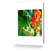 Saturation Obscura Greeting Card