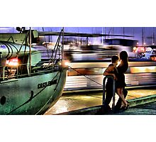 Like two ships that pass in the night... Photographic Print