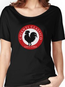Black Rooster Salt Lake City Chianti Classico  Women's Relaxed Fit T-Shirt