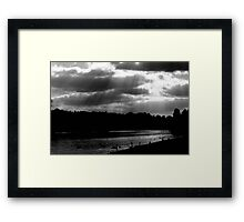 Ray Framed Print