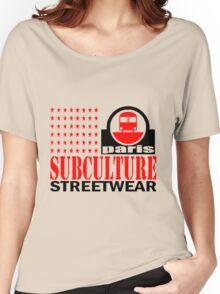 Sub Train Paris Women's Relaxed Fit T-Shirt
