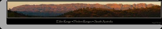 Elder Range, Flinders Ranges by Helen Simpson