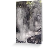 Shaft of light  Greeting Card