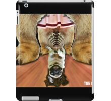 the dude lord pug iPad Case/Skin