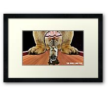 the dude lord pug Framed Print