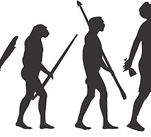 evolution drunk falling by hrmmm