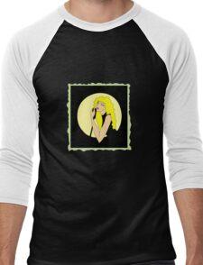 singing woman Men's Baseball ¾ T-Shirt