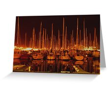LAGOS MARINA Greeting Card