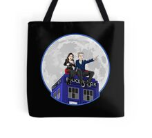 Clara and the Doctor Tote Bag