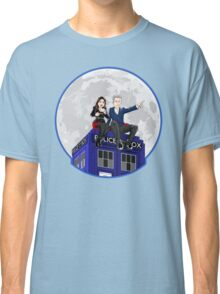 Clara and the Doctor Classic T-Shirt