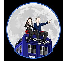Clara and the Doctor Photographic Print
