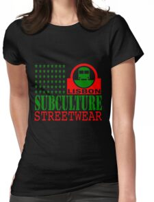 Sub Train Lisbon Womens Fitted T-Shirt